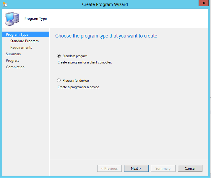 LAPS_SCCM_CreateProgram